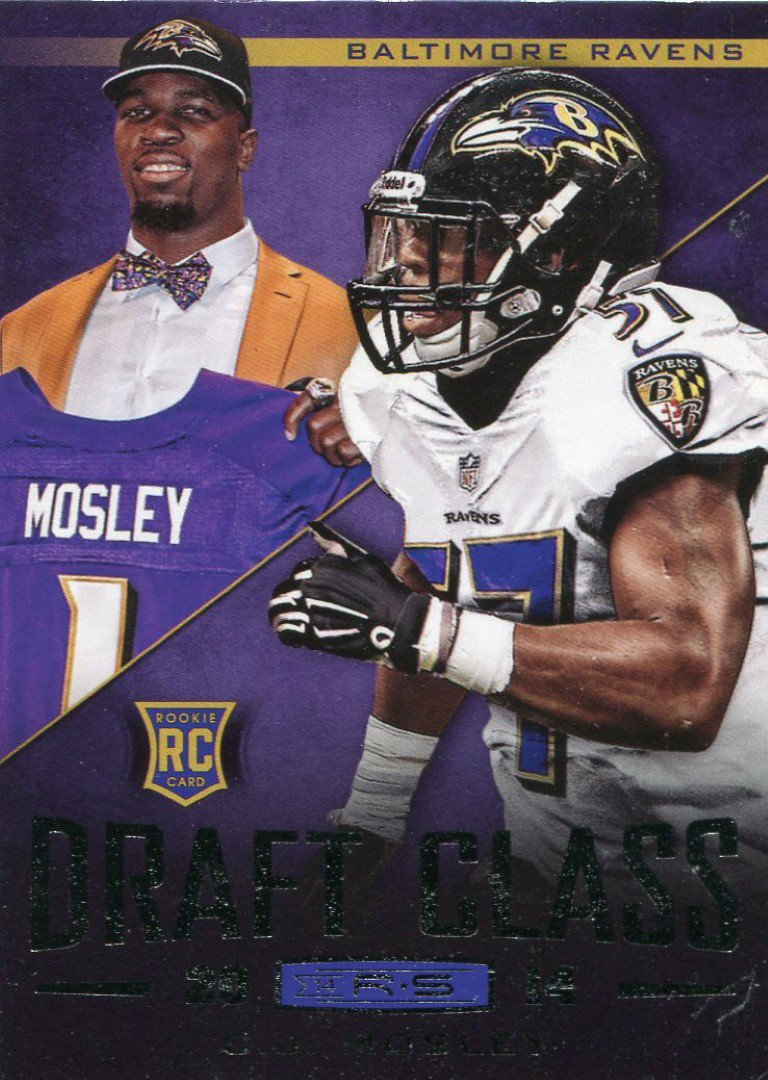 2014 Rookies & Stars Football Card Draft Class # CJ Mosley