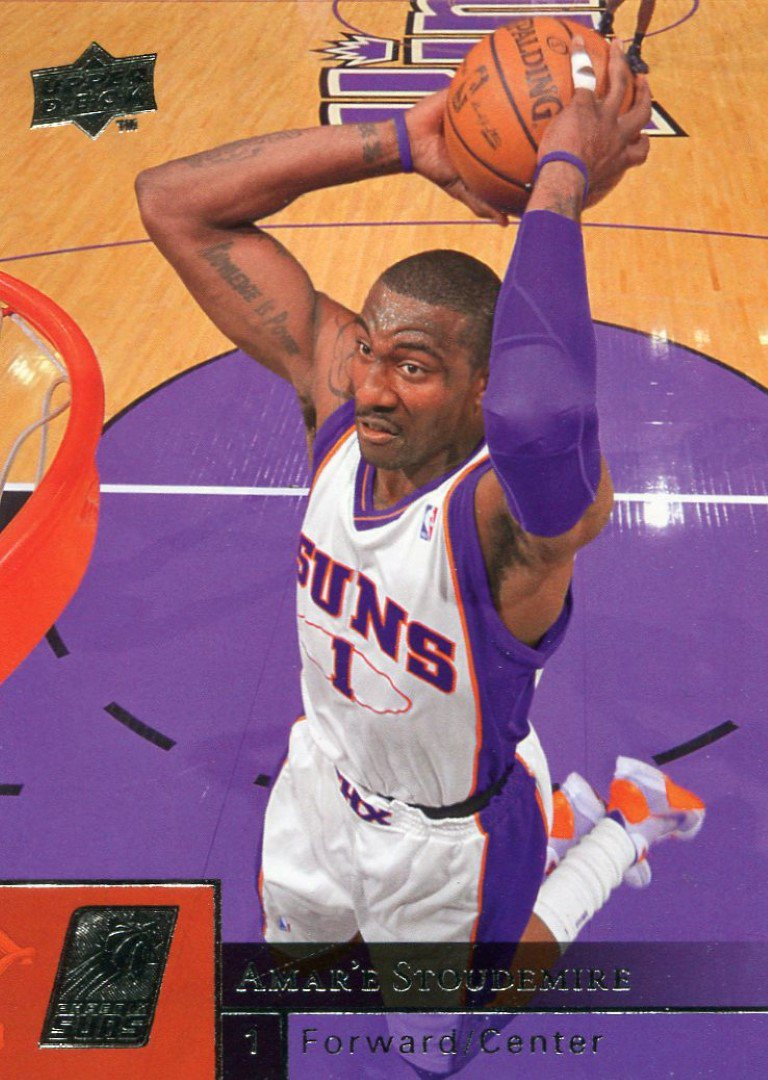 2009 Upper Deck Basketball Card #156 Amare Stoudemire