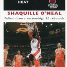 2007 Fleer Basketball Card 1961/62 #60 Shaquille O'Neal