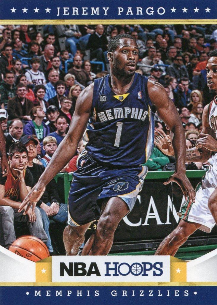 2012 Hoops Basketball Card #256 Jeremy Pargo
