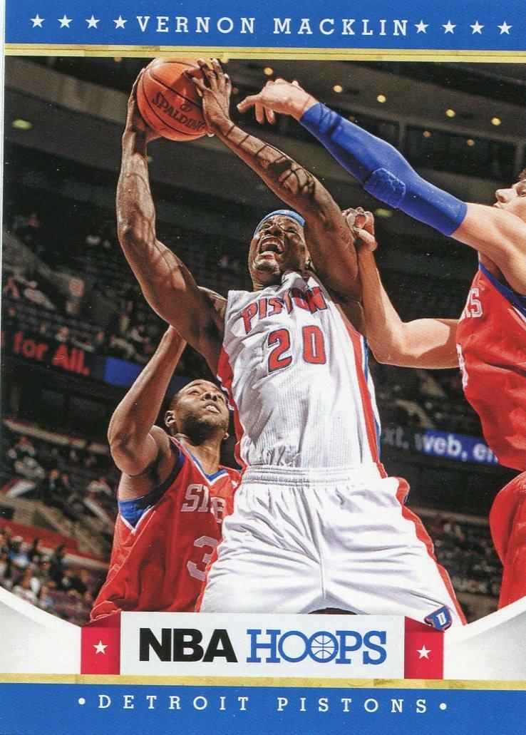 2012 Hoops Basketball Card #261 Vernon Macklin