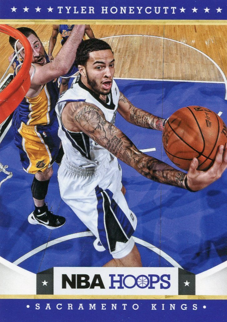 2012 Hoops Basketball Card #269 Tyler Honeycutt