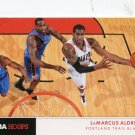 2012 Hoops Basketball Card Action Photos #15 LaMarcus Aldridge