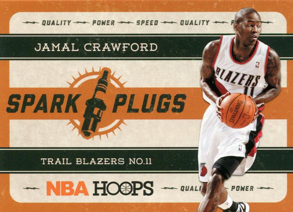 2012 Hoops Basketball Card Spark Plugs #19 Jamal Crawford