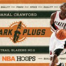 2012 Hoops Basketball Card Spark Plugs #19 Jamal Crawford
