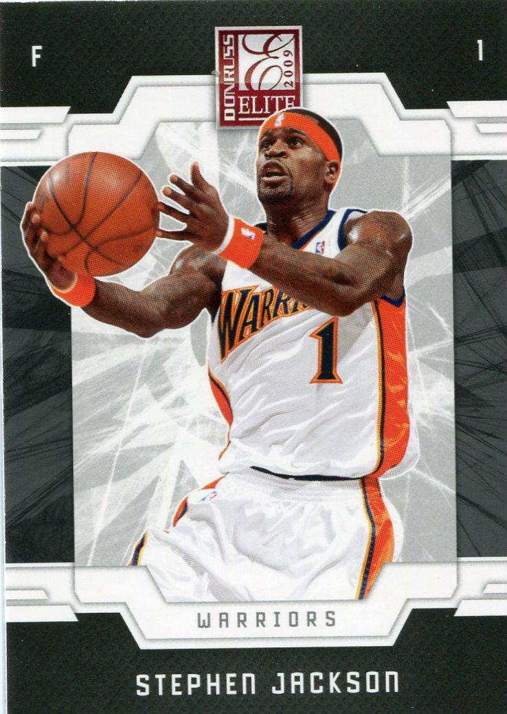 2009 Donruss Elite Basketball Card #32 Stephen Jackson