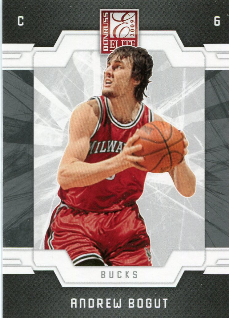 2009 Donruss Elite Basketball Card #63 Andrew Bogut