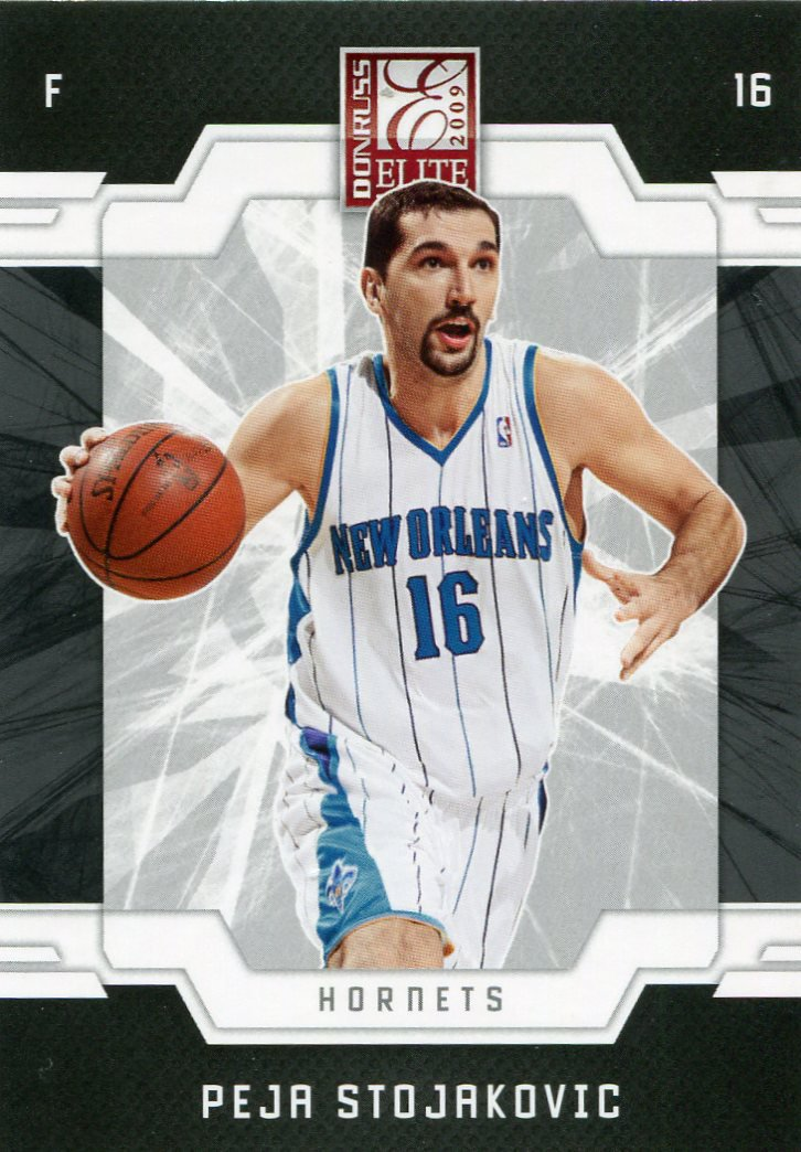 2009 Donruss Elite Basketball Card #74 Peja Stojakovic