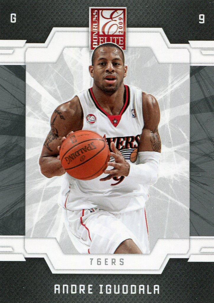 2009 Donruss Elite Basketball Card #90 Andre Iguodala