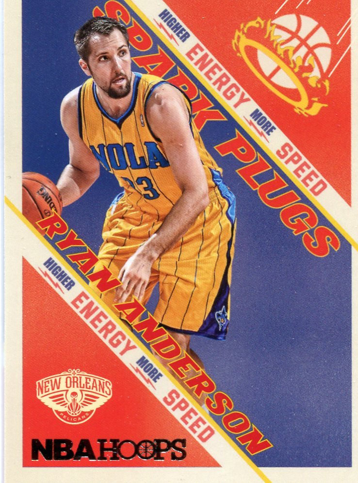 2013 Hoops Basketball Card Spark Plugs #3 Ryan Anderson