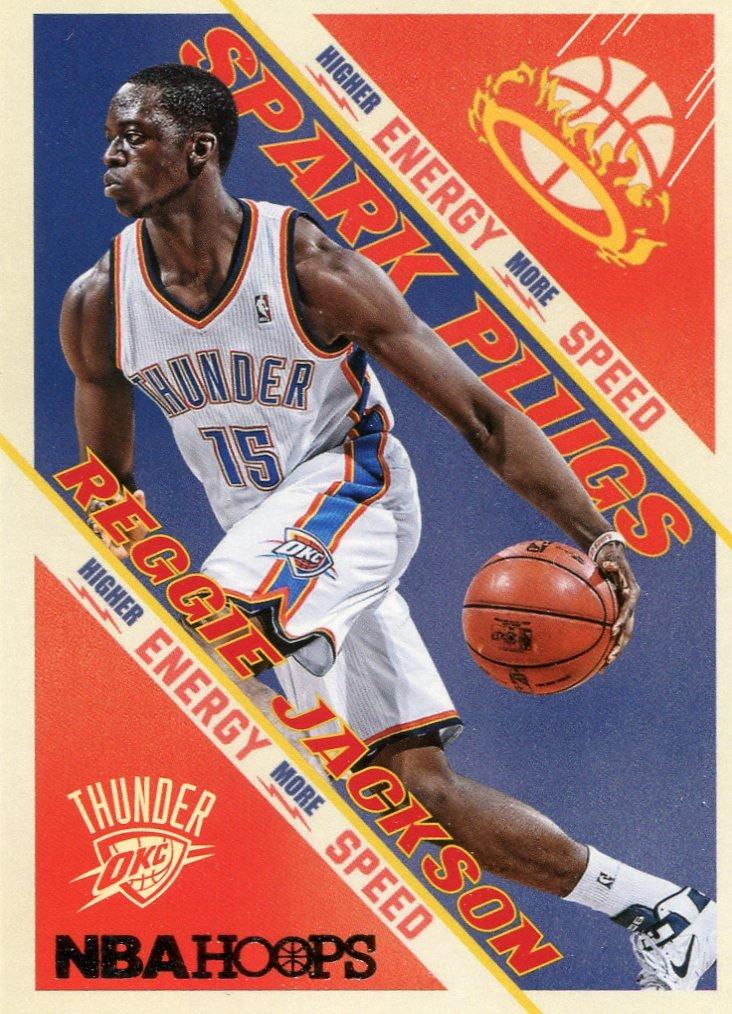 2013 Hoops Basketball Card Spark Plugs #17 Reggie Jackson