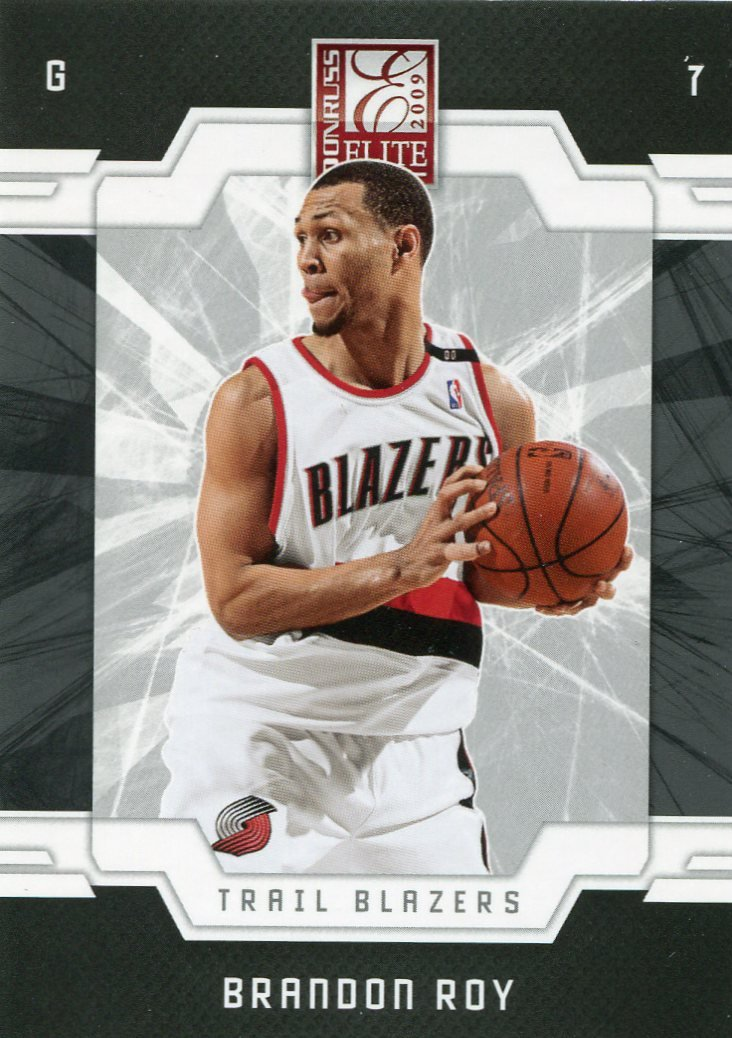 2009 Donruss Elite Basketball Card #96 Brandon Roy