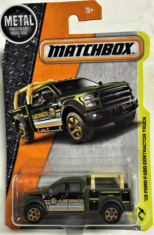 2017 Matchbox #47 15 Ford F-150