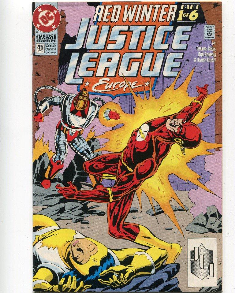 DC Comics Justice League Europe #45