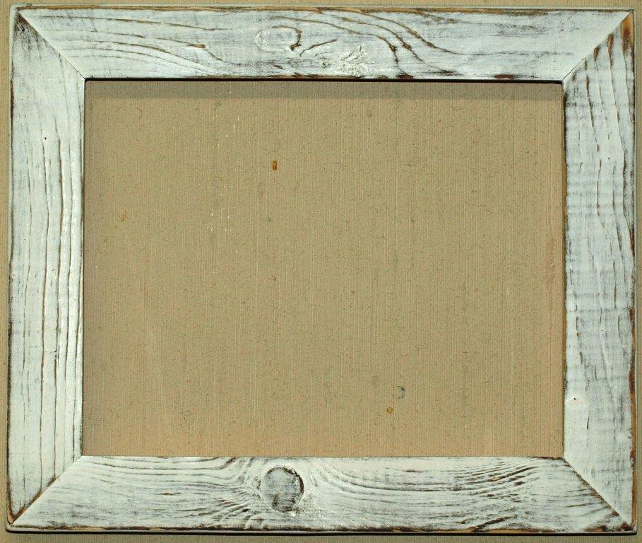 раз как сделать состаренную рамку для фото потертую представлю