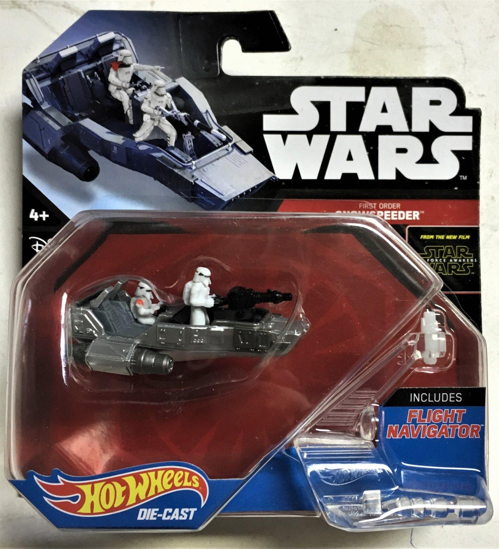 2016 Hot Wheels Star Wars Starships First Order Snow Speeder