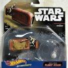 2016 Hot Wheels Star Wars Starships Rey's Sppeder 2