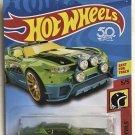 2018 Hot Wheels Daredevils #5 Rally Cat GREEN
