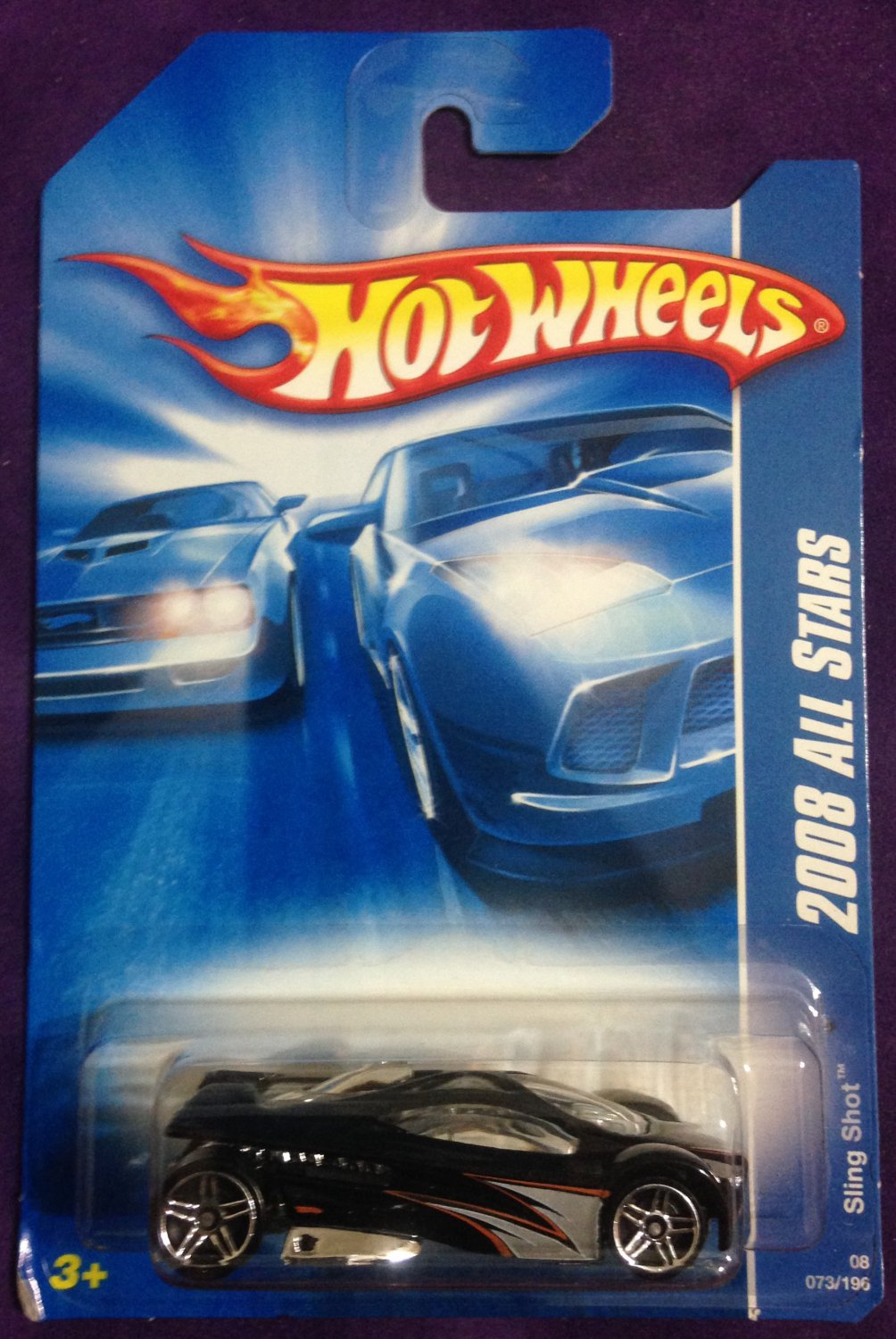 2008 Hot Wheels #73 Sling Shot
