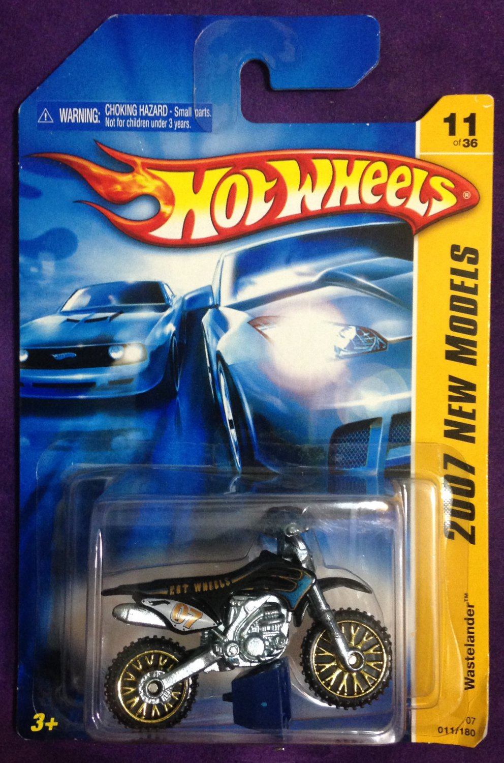 2007 Hot Wheels #11 Wastelander