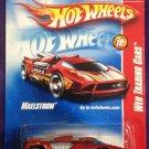 2008 Hot Wheels #94 Maelstrom RED