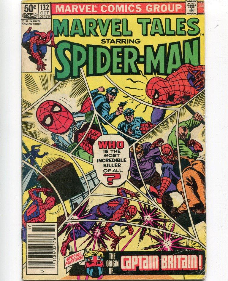 Marvel Comics Marvel Tales Starring Spiderman #132