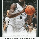 2012 Panini Basketball Card #5 Andray Blatche