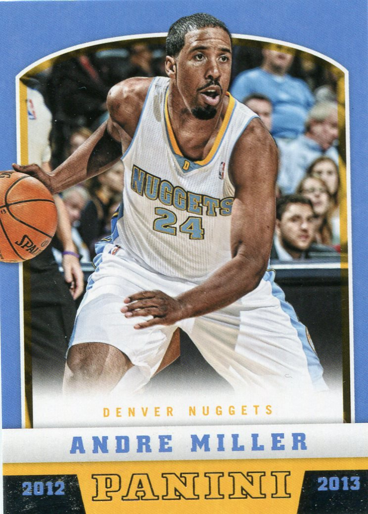2012 Panini Basketball Card #7 Andre Miller