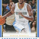 2012 Panini Basketball Card #14 Anthony Randolph