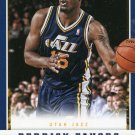 2012 Panini Basketball Card #48 Derrick Favors