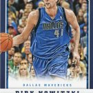 2012 Panini Basketball Card #52 Dirk Nowitzki