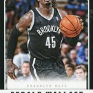2012 Panini Basketball Card #63 Gerald Wallace