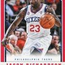 2012 Panini Basketball Card #75 Jason Richardson