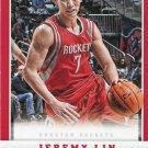 2012 Panini Basketball Card #81 Jeremy Lin
