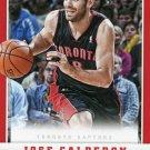 2012 Panini Basketball Card #87 Jose Calderon