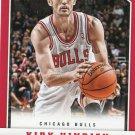 2012 Panini Basketball Card #93 Kirk Hinrich