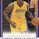 2012 Panini Basketball Card #118 Metta World Peace