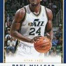 2012 Panini Basketball Card #136 Paul Milsaps