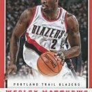 2012 Panini Basketball Card #173 Wesley Matthews