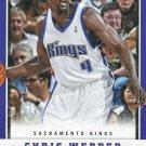 2012 Panini Basketball Card #179 Chris Webber
