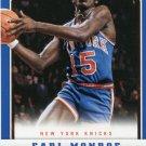 2012 Panini Basketball Card #182 Earl Monroe