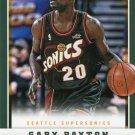 2012 Panini Basketball Card #184 Gary Payton