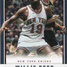 2012 Panini Basketball Card #200 Willis Reed