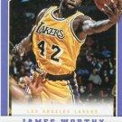 2012 Panini Basketball Card #187 James Worthy