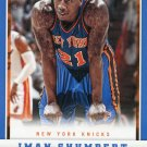 2012 Panini Basketball Card #204 Iman Shumpert