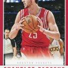 2012 Panini Basketball Card #212 Chandler Parsons