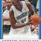 2012 Panini Basketball Card #221 Andrew Nicholson