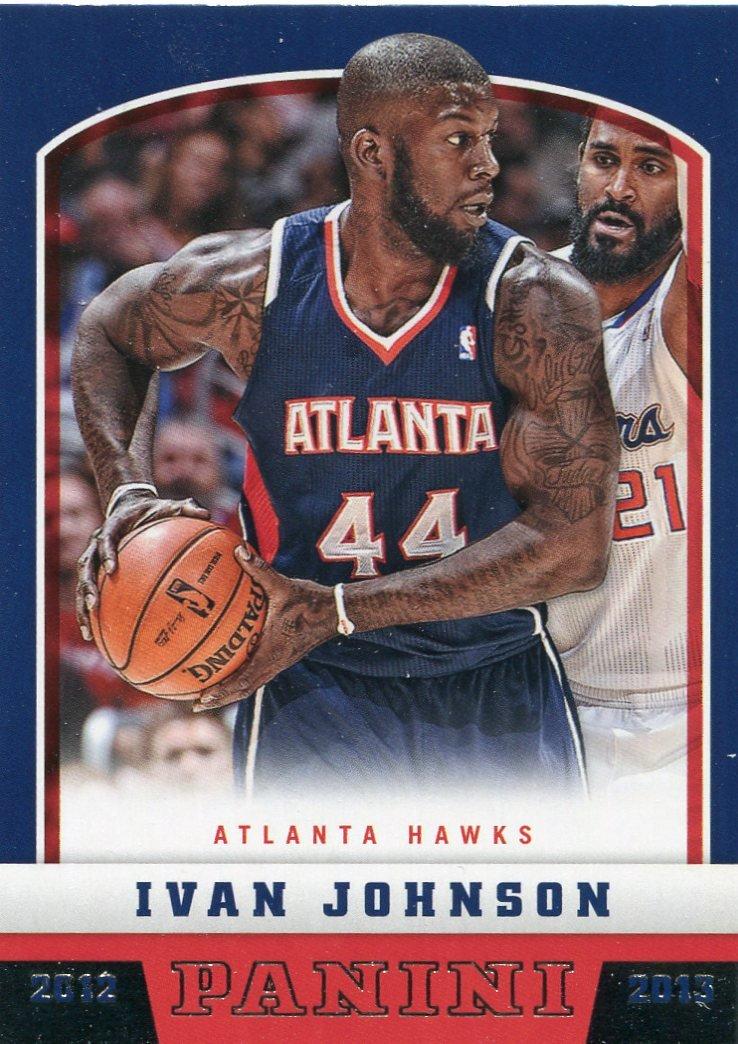 2012 Panini Basketball Card #224 Ivan Johnson