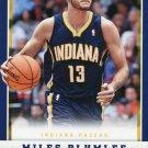 2012 Panini Basketball Card #238 Miles Plumlee