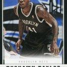2012 Panini Basketball Card #240 Tyshawn Taylor